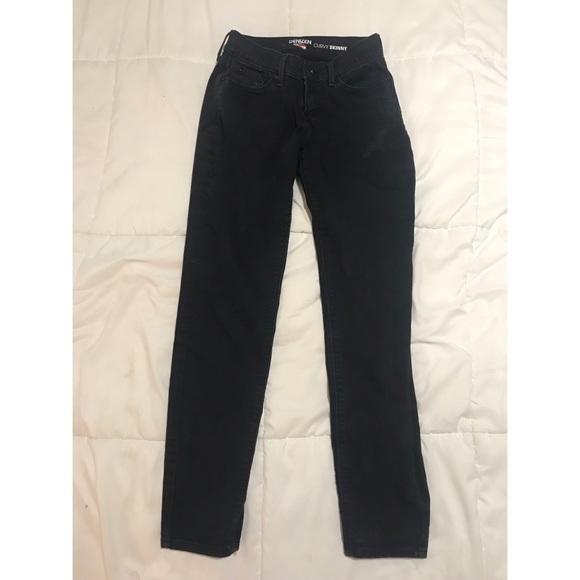 Levi's Denim - Black Levi's Curvy Skinny Jeans